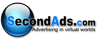 SecondAds Second Life Advertising, Traffic, Stats and Gaming
